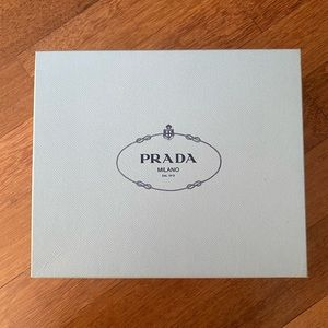 Prada box. Clean. Authentic.